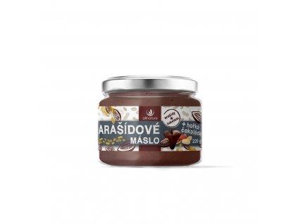 2658 allnature arasidove maslo s horkou cokoladou 220 g