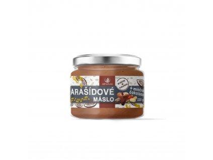 2613 allnature arasidove maslo s mlecnou cokoladou 220 g