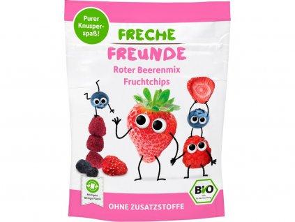 Bio Ovocné chipsy Lesní plody mix 10g Freche Freunde