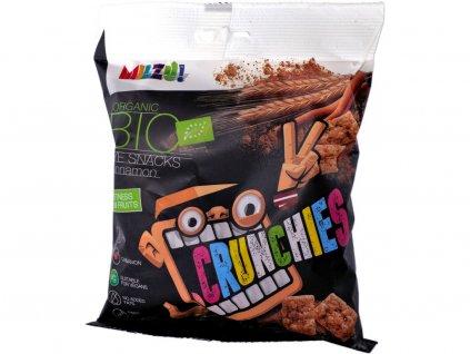 Bio Křupavý snack Obdélníčky s kakaem 70g Milzu!