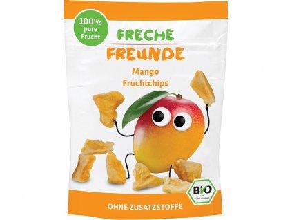 Bio Ovocné chipsy Mango 14g Freche Freunde