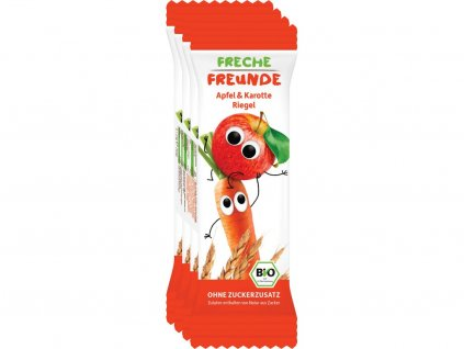 Bio Ovocná tyčinka - Jablko a mrkev 4x23g Freche Freunde
