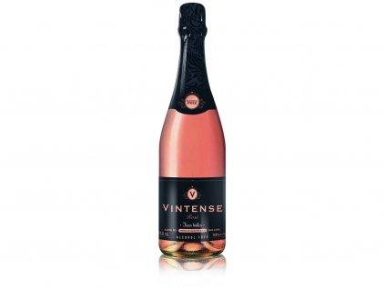 Jemně šumivé nealkoholické víno Rosé 750ml