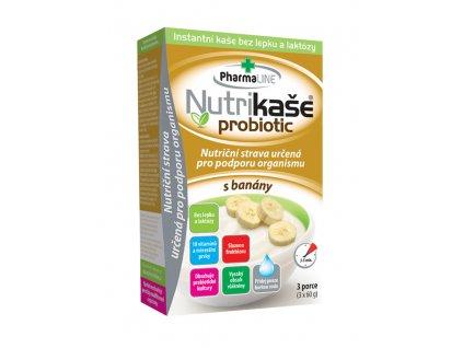Nutrikaše probiotic s banány 3x60g Mogador DMT 2/2021