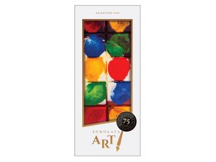 Hořká, mléčná a bílá čokoláda Color Spot 100gr SOKOLATA AGAPITOS