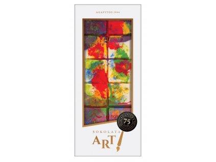 Hořká, mléčná a bílá čokoláda Impressionism 100gr SOKOLATA AGAPITOS