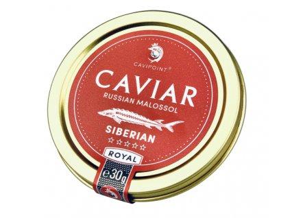 G735 - BAERII - PREMIUM SIBERIAN sturgeon caviar, 30g tin