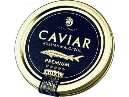 AMUR ROYAL - PREMIUM sturgeon caviar, 30g tin