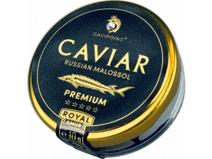 AMUR ROYAL - PREMIUM sturgeon caviar, 10g jar