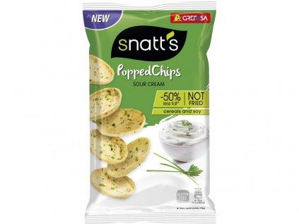 Popped chips zakysaná smetana a cibulka 75g