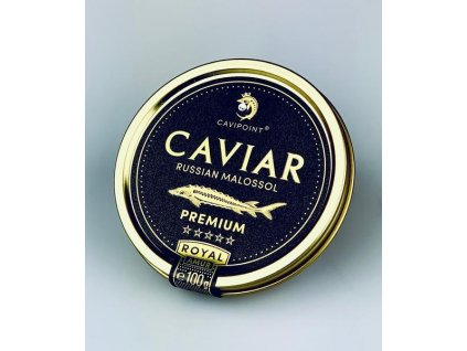 AMUR ROYAL - PREMIUM sturgeon caviar, 100g tin