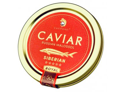 BAERII - PREMIUM SIBERIAN sturgeon caviar, 50g tin