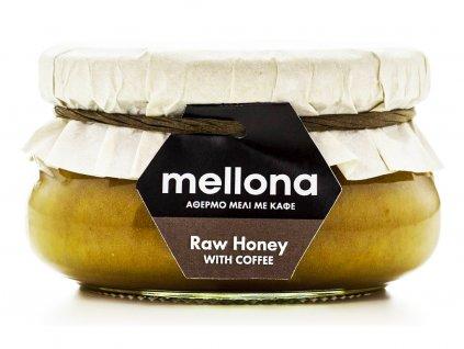 Mellona Cyprus Raw med s kávou arabica 250g MELLONA