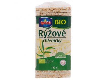Akce Chlebíčky rýžové 140 g BIO RACIO