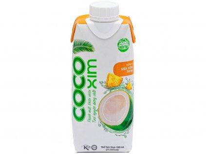 Kokosová voda Ananas 330ml Cocoxim