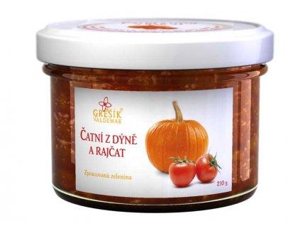 Čatní Z dýně a rajčat 210 g GREŠÍK