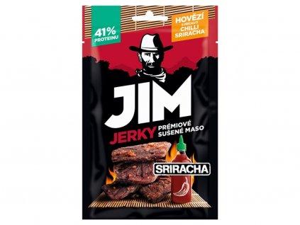 Jerky hovězí chilli sriracha 23g JimJerky