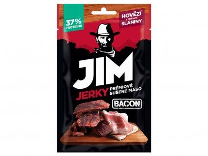 Jerky hovězí slanina 23g JimJerky
