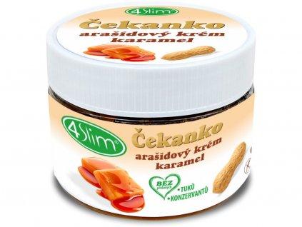 Čekanko-arašídový krém Slaný karamel 250g 4Slim