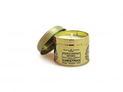 Aromaterapeutická svíčka Chrismas 70g Altevita