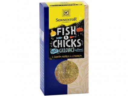 Akce Bio Fish & Chicks - grilovací koření na ryby a kuře 55g Sonnentor
