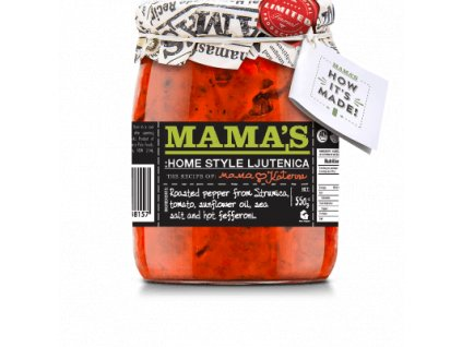 Akce Mamas Lutenica Home Made Mamas, 550g