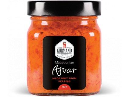 AKCE Gurmano Ajvar HOT pálivý, 300g