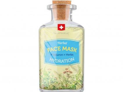 Bylinná pleťová maska Hydration 17ml Swissmedicus