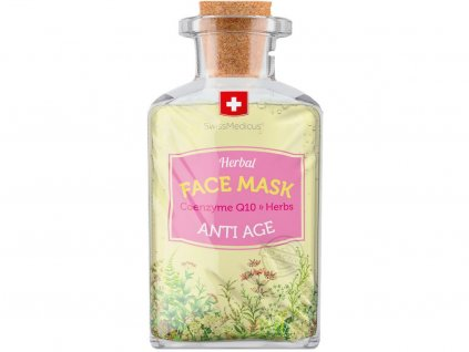 Bylinná pleťová maska Anti-Age 17ml Swissmedicus