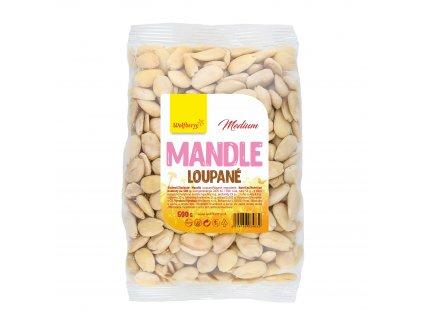 Mandle loupané medium 500 g Wolfberry