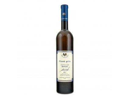 Pinot Gris BIO 2017 Oranžové víno 0,75 l Vinařství Marcinčák