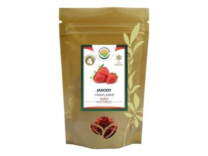 Jahody mleté sušené mrazem - lyofilizované 50 g Salvia Paradise