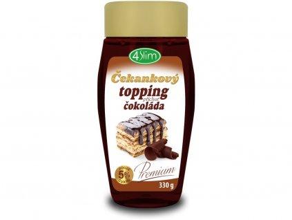 Topping čokoláda 330g 4Slim