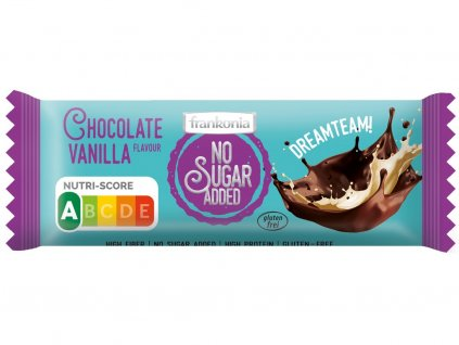 Tyčinka Čokoláda Vanilka bez přidaného cukru 50g Frankonia