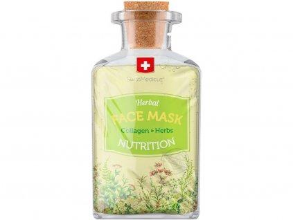Bylinná pleťová maska Nutrition 17ml Swissmedicus