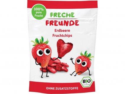 Bio Ovocné chipsy Jahoda 12g Freche Freunde