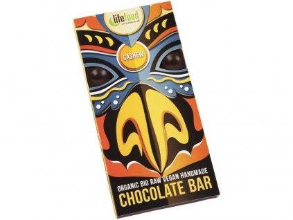 Bio Lifefood Chocolate s kousky kešu ořechy 70g Lifefood