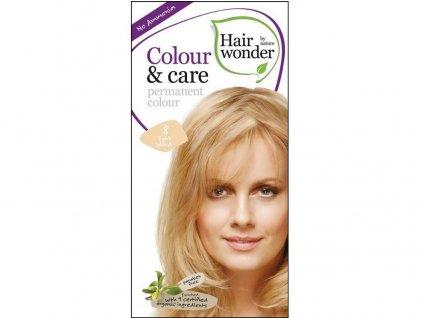 Přírodní dlouhotrvající barva Světlá blond 8 100ml Hair Wonder