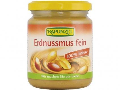 Bio 100%-ní arašídová pasta jemná 250g Rapunzel