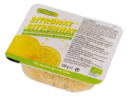Bio Kandovaná citrónová kůra 100g Rapunzel