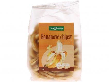 Bio Banánové chipsy 150g Bio nebio