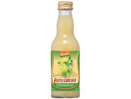 Bio Citronová šťáva 100% Beutelsbacher 0,2l Beutelsbacher
