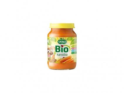 Bio Dětská výživa karotka OVKO 190g