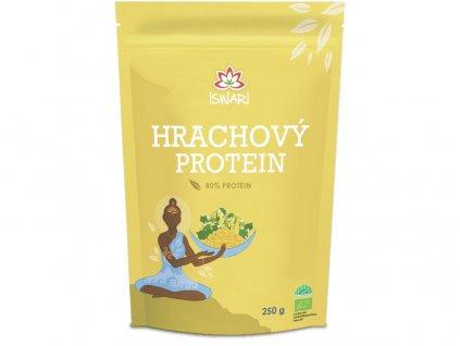 Bio Hrachový protein 80% 250g Iswari