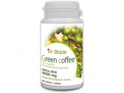 Green coffee 60 tablet - extra silné 4000mg Dr. Bojda