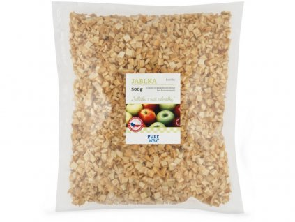 Jablka - kostičky 500g Pure Way