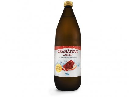 Granátové jablko 100% šťáva premium quality 1000ml Pure Way
