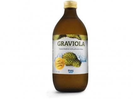 Graviola 100% šťáva premium quality 500ml Pure Way
