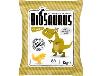 Bio Biosaurus křupky se sýrem 15g Biosaurus