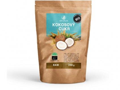 Bio Kokosový cukr 250 g Allnature